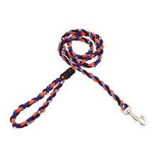 Ghost Dog Leash - Orange and Blue