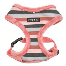 Bryson Basic Style Dog Harness By Puppia - Indian Pink