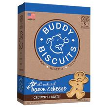 Buddy Biscuits Crunchy Dog Treats - Bacon & Cheese