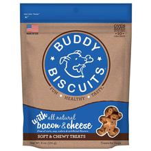 Buddy Biscuits Whole Grain Soft & Chewy Dog Treats - Bacon & Cheese