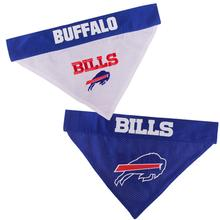 Buffalo Bills Reversible Dog Bandana Collar Slider