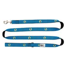 Buffalo Plaid Dog Leash by RC Pet - Blue