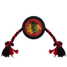 Chicago Blackhawks Hockey Puck Dog Toy