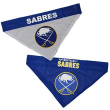 Buffalo Sabres Reversible Dog Bandana Collar Slider