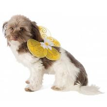 Bumble Bee Fairy Wings Dog Costume - Yellow