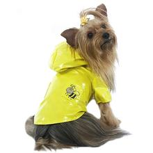 Bumble Bee Dog Raincoat by Cha-Cha Couture - Yellow