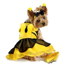 Bumblebee Fairy Dog Costume Harness Dress by Doggie Design