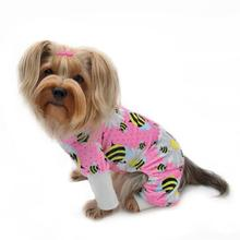Bumblebee and Flowers Ultra Soft Dog Pajamas by Klippo