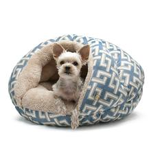 Burger Pet Bed by Dogo - Geometric