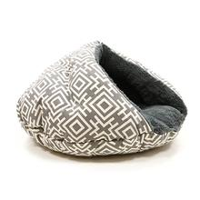 Burger Pet Bed by Dogo - Modern Gray