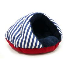 Burger Pet Bed by Dogo - Nautical