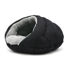 Burger Pet Bed by Dogo - Solid Black