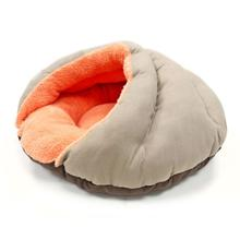 Burger Pet Bed by Dogo - Solid with Orange