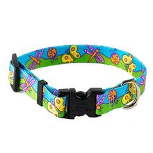Butterflies Dog Collar by Yellow Dog