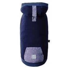 Cabin Dog Hoodie by GF Pet- Navy