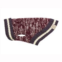 Cabin Dog Sweater by RC Pets - Burgundy Melange