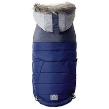 Cabin Elasto-fit Dog Jacket - Navy
