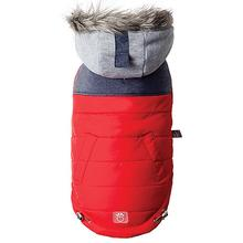 Cabin Elasto-fit Dog Jacket - Red