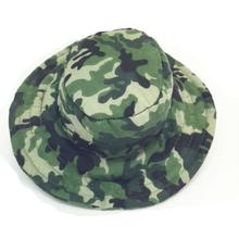 Camo Bucket Dog Hat - Green