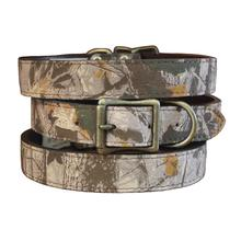 Camouflage Dog Collar by Auburn Leathercrafters - Earth