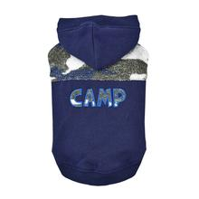 Camp Hooded Dog Shirt By Puppia - Navy