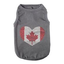 Canada Dog T-Shirt by Parisian Pet - Gray
