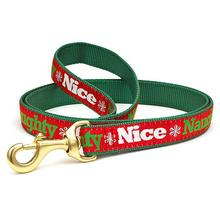 Naughty and Nice Dog Leash by Up Country