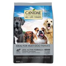 Canidae All Life Stages Platinum Dog Food - Less Active Multi-Protein Formula