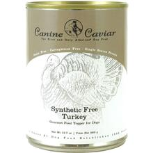 Canine Caviar Synthetic Free Turkey Canned Dog Food