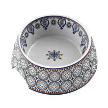 Moroccan Blue Dog Bowl by TarHong - Multi