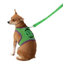 Marvel Hulk Dog Harness and Leash Set