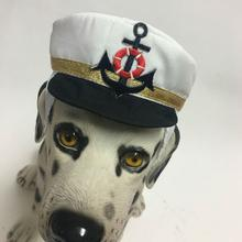 Captains Cap Dog Costume