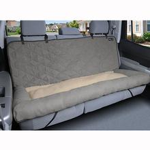 Car Cuddler Dog Seat Cover - Gray