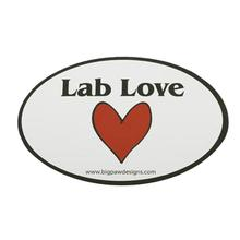 Car Magnet - Lab Love