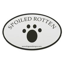 Car Magnet - Spoiled Rotten Paw