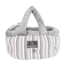 Cara Basket Dog Bed by Pinkaholic - Grey