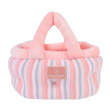 Cara Basket Dog Bed by Pinkaholic - Pink