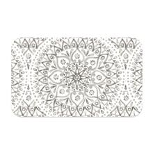 Boho Medallion Pet Placemat by TarHong - Taupe