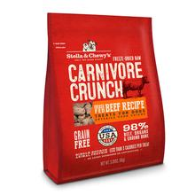 Stella & Chewy's Carnivore Crunch Dog Treat - Beef