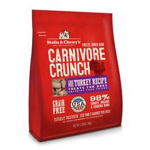 Stella & Chewy's Carnivore Crunch Dog Treat - Turkey