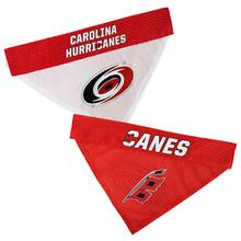 Carolina Hurricanes Reversible Dog Bandana Collar Slider