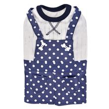 Carolina Overall Dog Dress by Pinkaholic - Navy