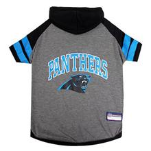 Carolina Panthers Hooded Dog T-Shirt