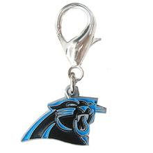Carolina Panthers Logo Dog Collar Charm
