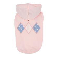 Carys Hooded Dog Shirt by Pinkaholic - Indian Pink