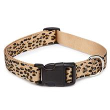 Casual Canine Animal Print Dog Collar - Cheetah
