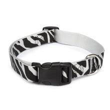Casual Canine Animal Print Dog Collar - Zebra