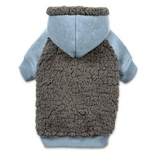Casual Canine Cozy Fleece Dog Hoodie - Blue