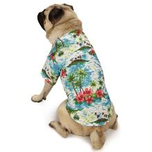 Casual Canine Hawaiian Breeze Dog Camp Shirt