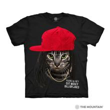 Cat Money Billionaires Human T-Shirt by The Mountain